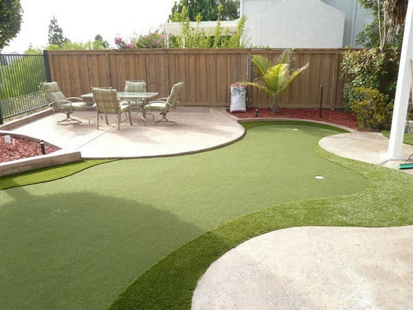 Best ideas about Backyard Mini Golf . Save or Pin Outdoor Entertaintment Area Now.