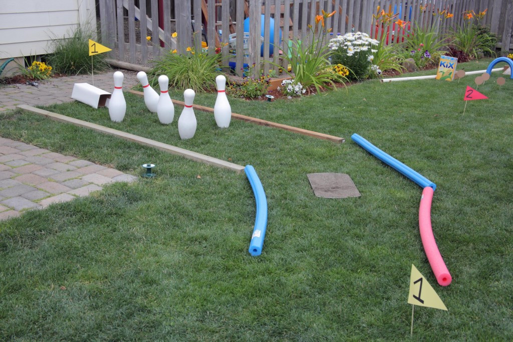 Best ideas about Backyard Mini Golf . Save or Pin Outdoor Fun Backyard Mini Golf Course · Kix Cereal Now.