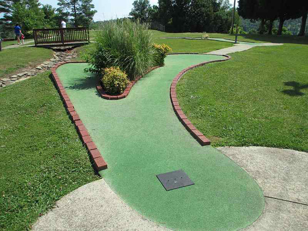 Best ideas about Backyard Mini Golf . Save or Pin Make Backyard Golf Course Now.