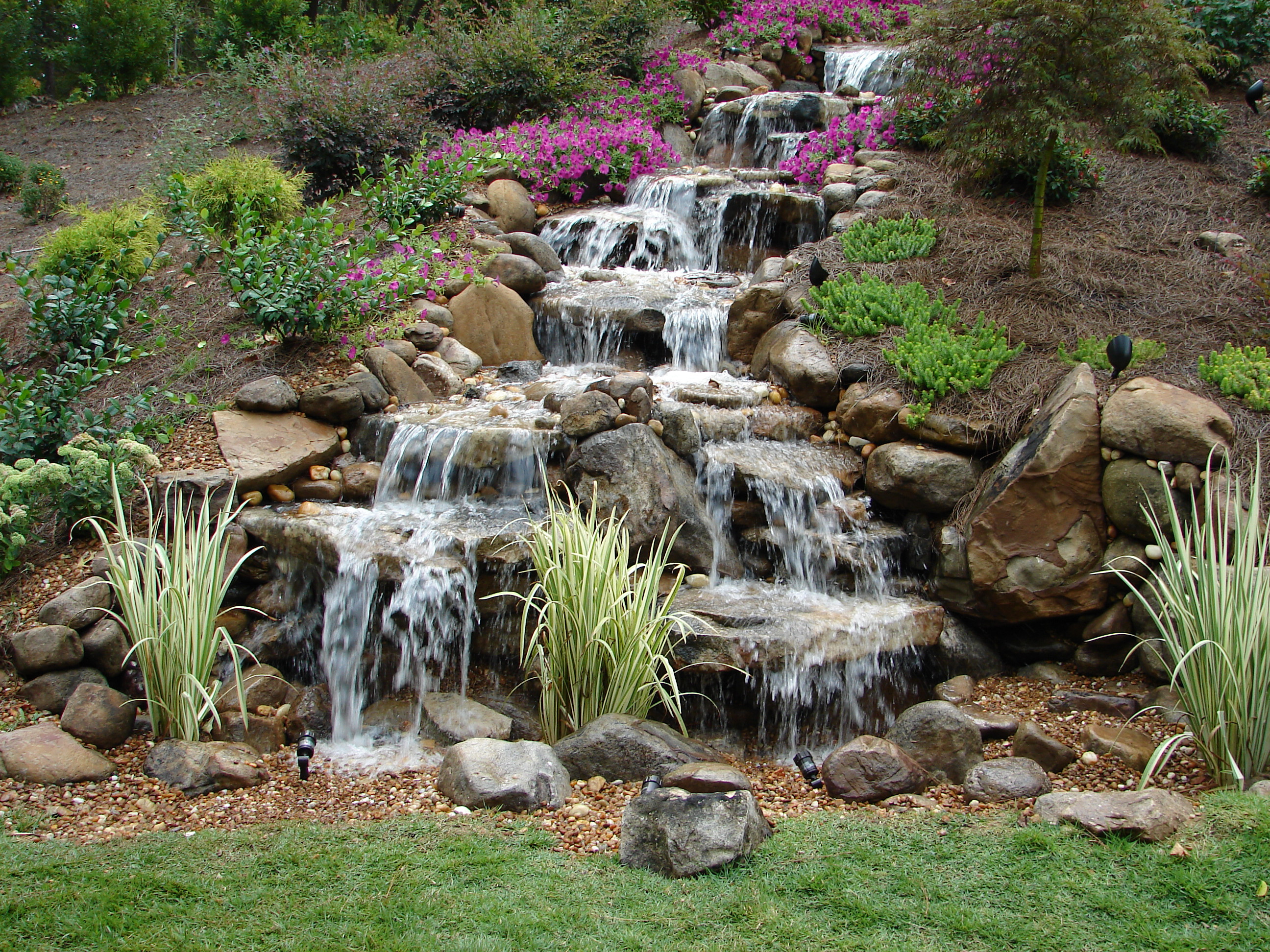 Best ideas about Backyard Ponds With Waterfalls . Save or Pin Pondless Waterfalls A Unique Element To Any Backyard Get Now.