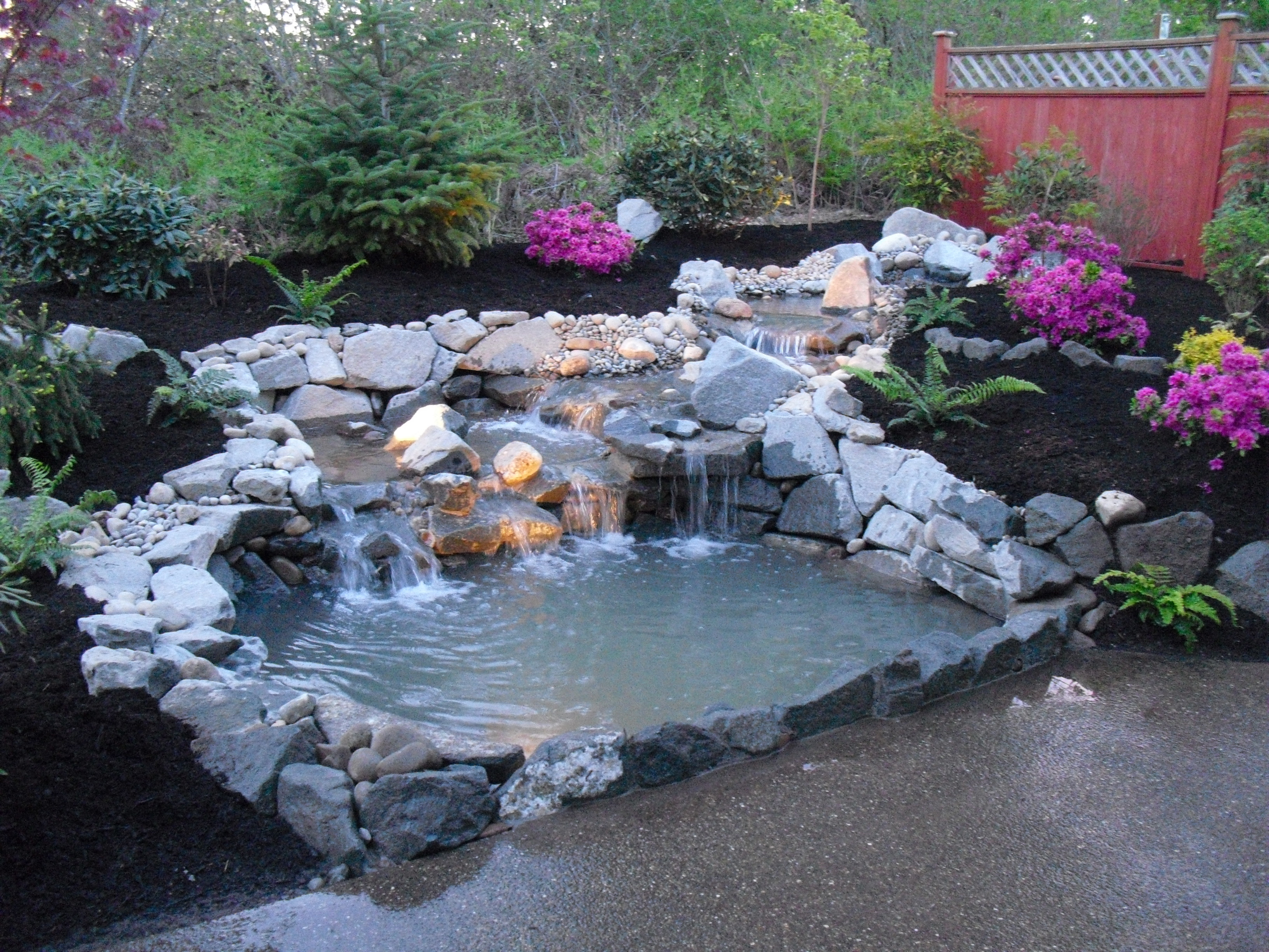 Best ideas about Backyard Ponds With Waterfalls . Save or Pin backyard pond tips All for the garden house beach Now.