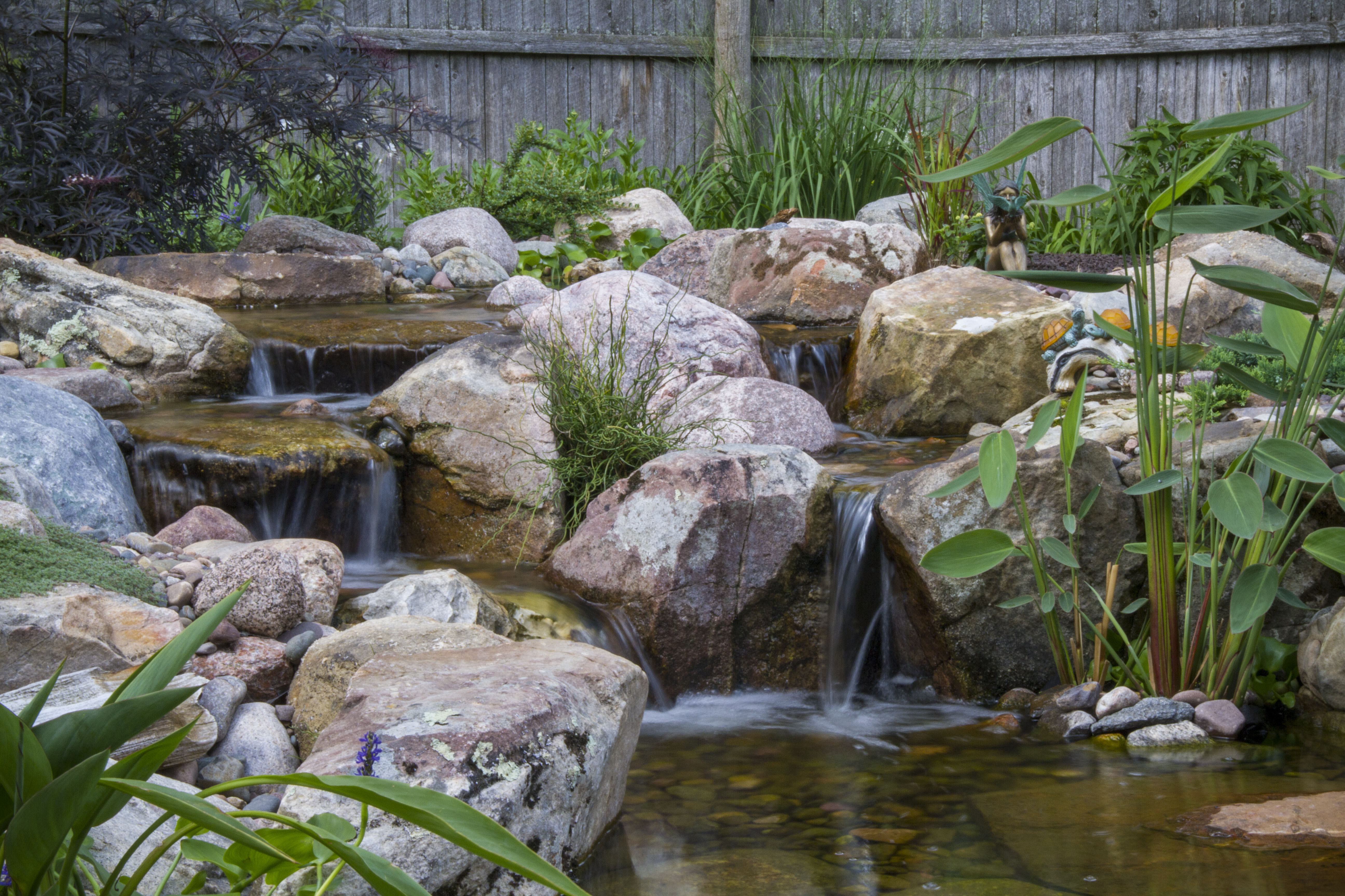 Best ideas about Backyard Ponds With Waterfalls . Save or Pin Diy Backyard Pondless Waterfall Tips For Building An Now.