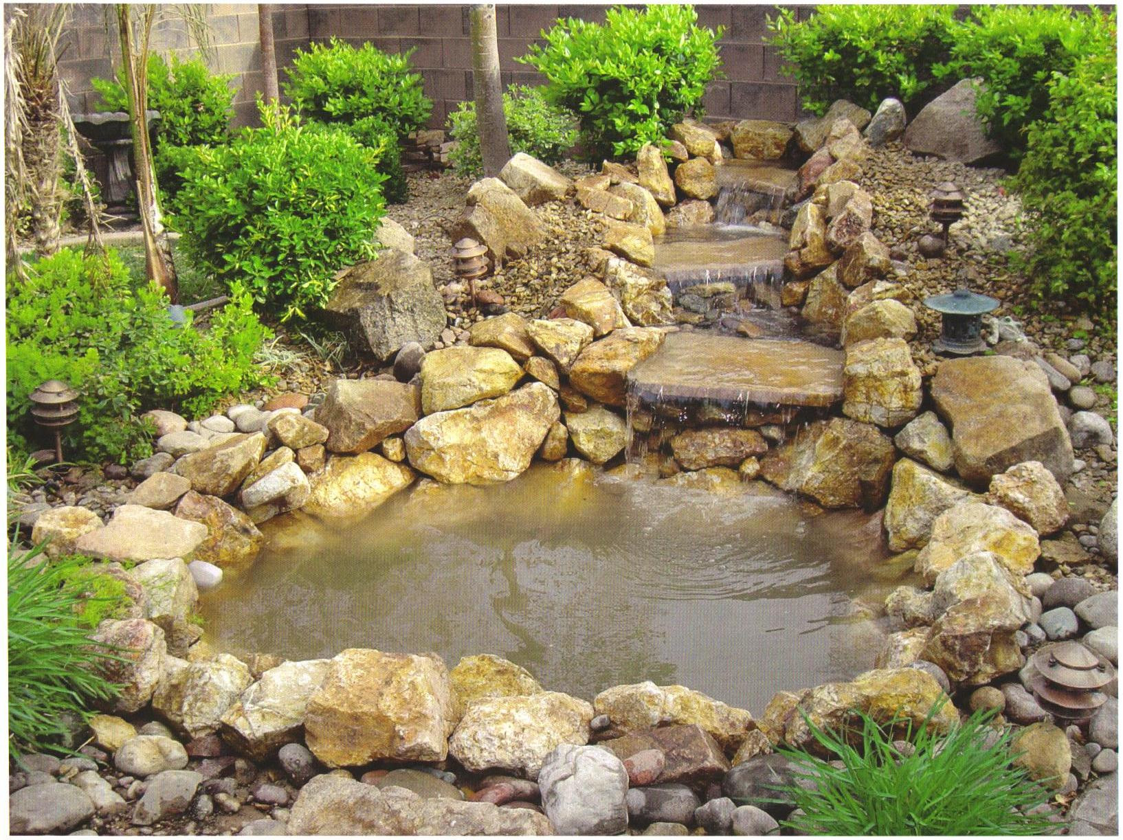 Best ideas about Backyard Ponds With Waterfalls . Save or Pin Backyard ponds waterfalls pictures back yard ponds and Now.