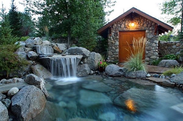 Best ideas about Backyard Waterfall Ideas . Save or Pin Breathtaking Pool Waterfall Design Ideas Now.