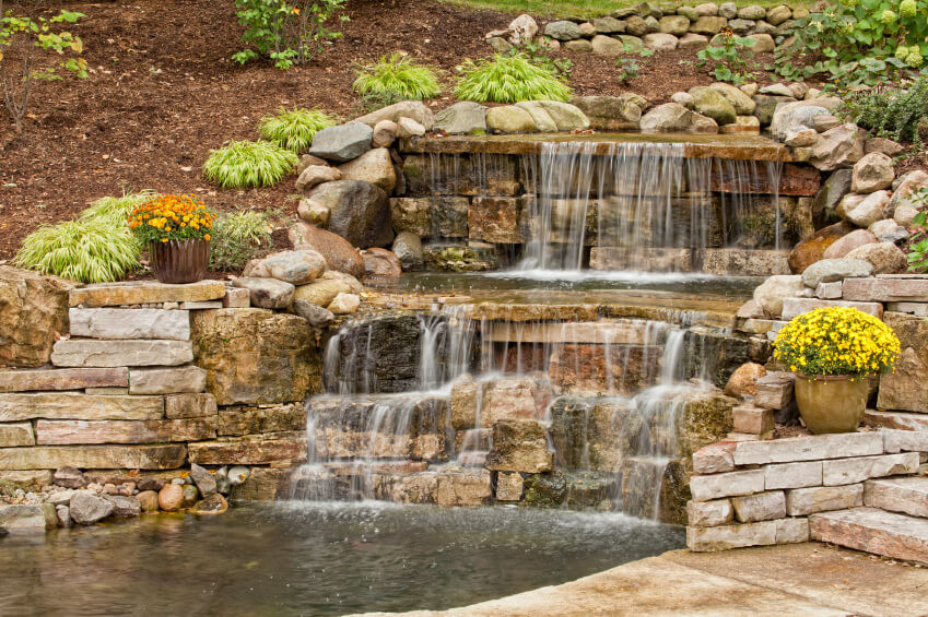 Best ideas about Backyard Waterfall Ideas . Save or Pin 50 of Backyard Garden Waterfalls Ideas & Designs Now.