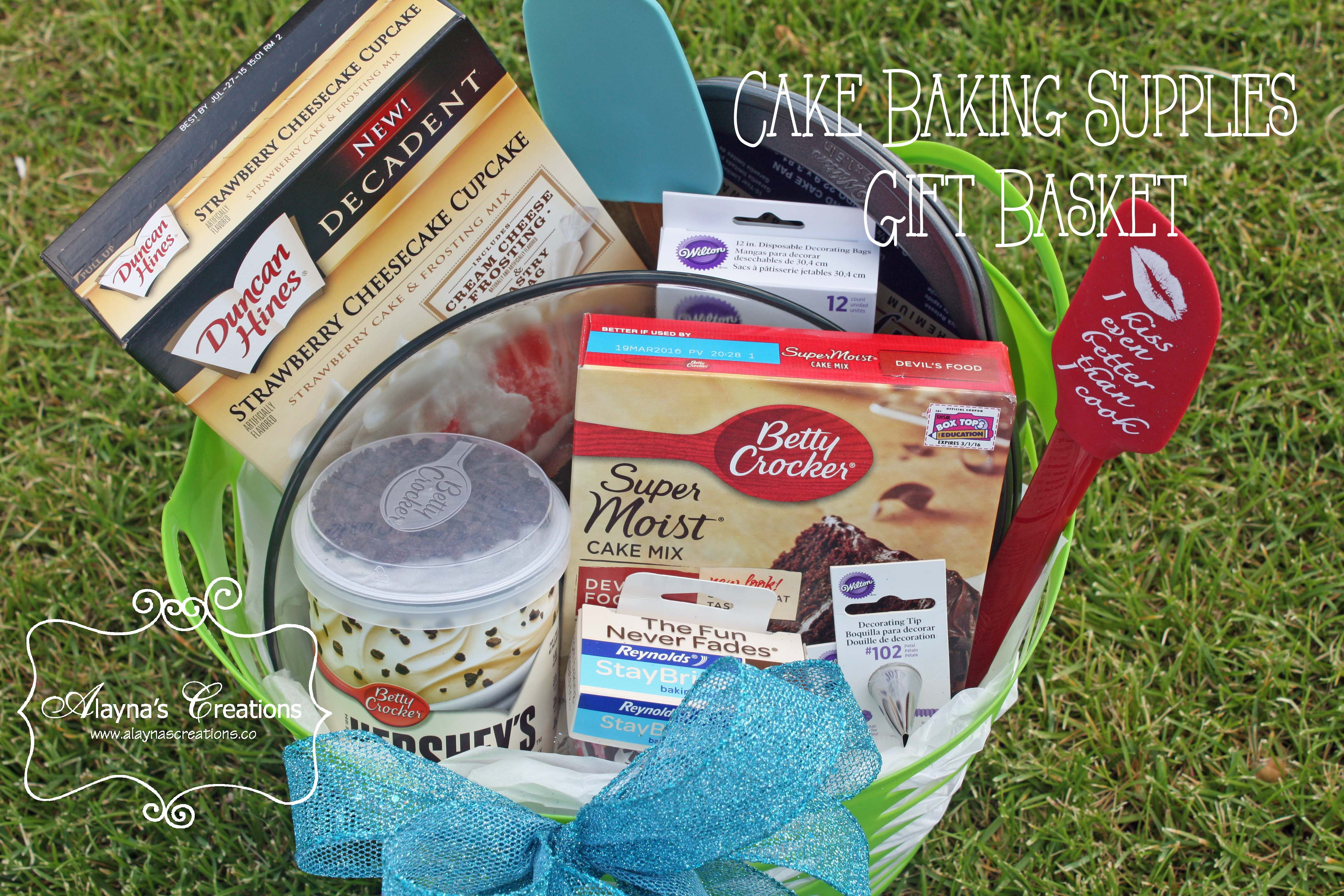Best ideas about Baking Gift Baskets Ideas . Save or Pin Let s Bake a Cake Wedding Gift Basket DIY home decor Now.