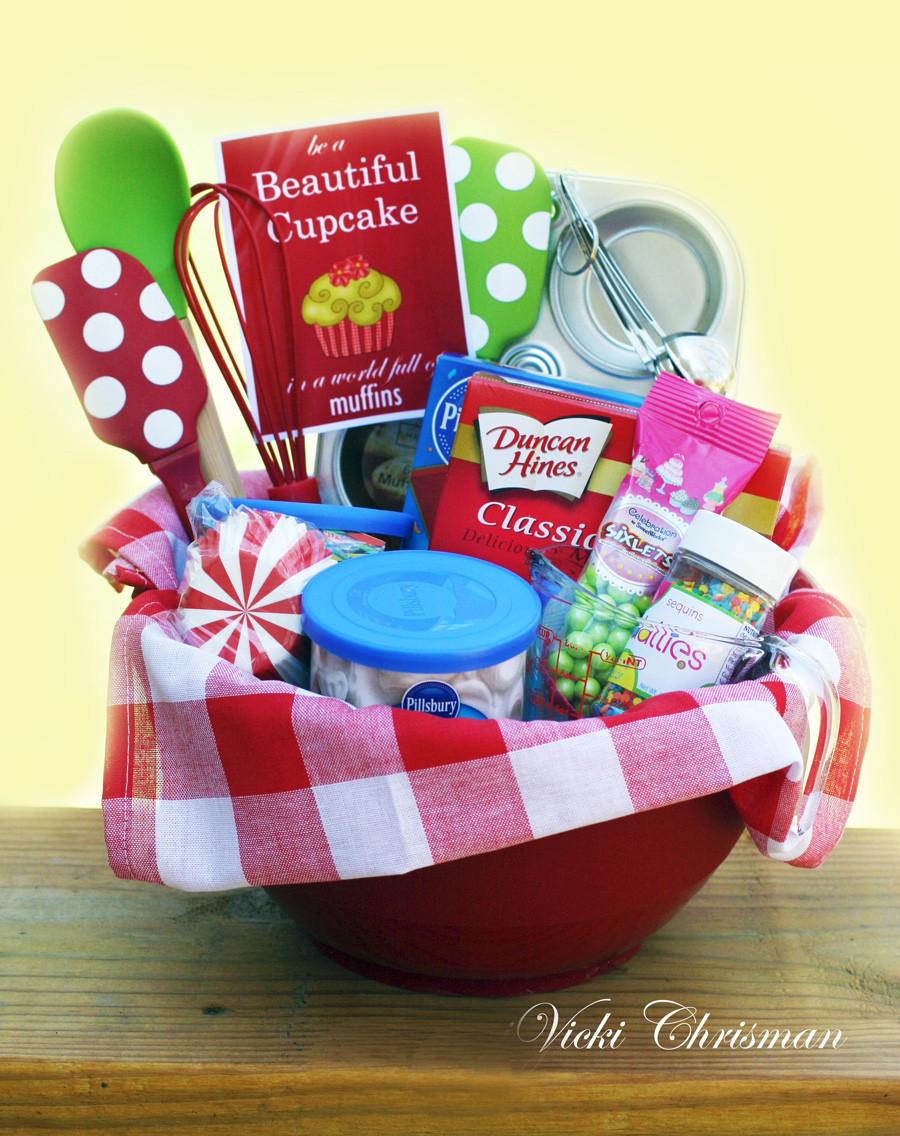 Best ideas about Baking Gift Baskets Ideas . Save or Pin This art that makes me happy Gift and fundraiser basket ideas Now.