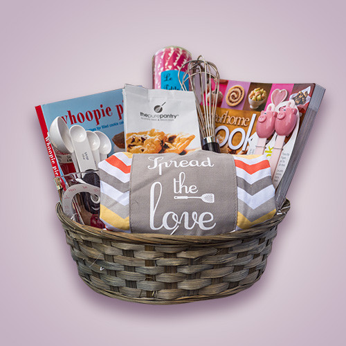 Best ideas about Baking Gift Baskets Ideas . Save or Pin Baking Gift Basket Orchid Gift Creations Now.