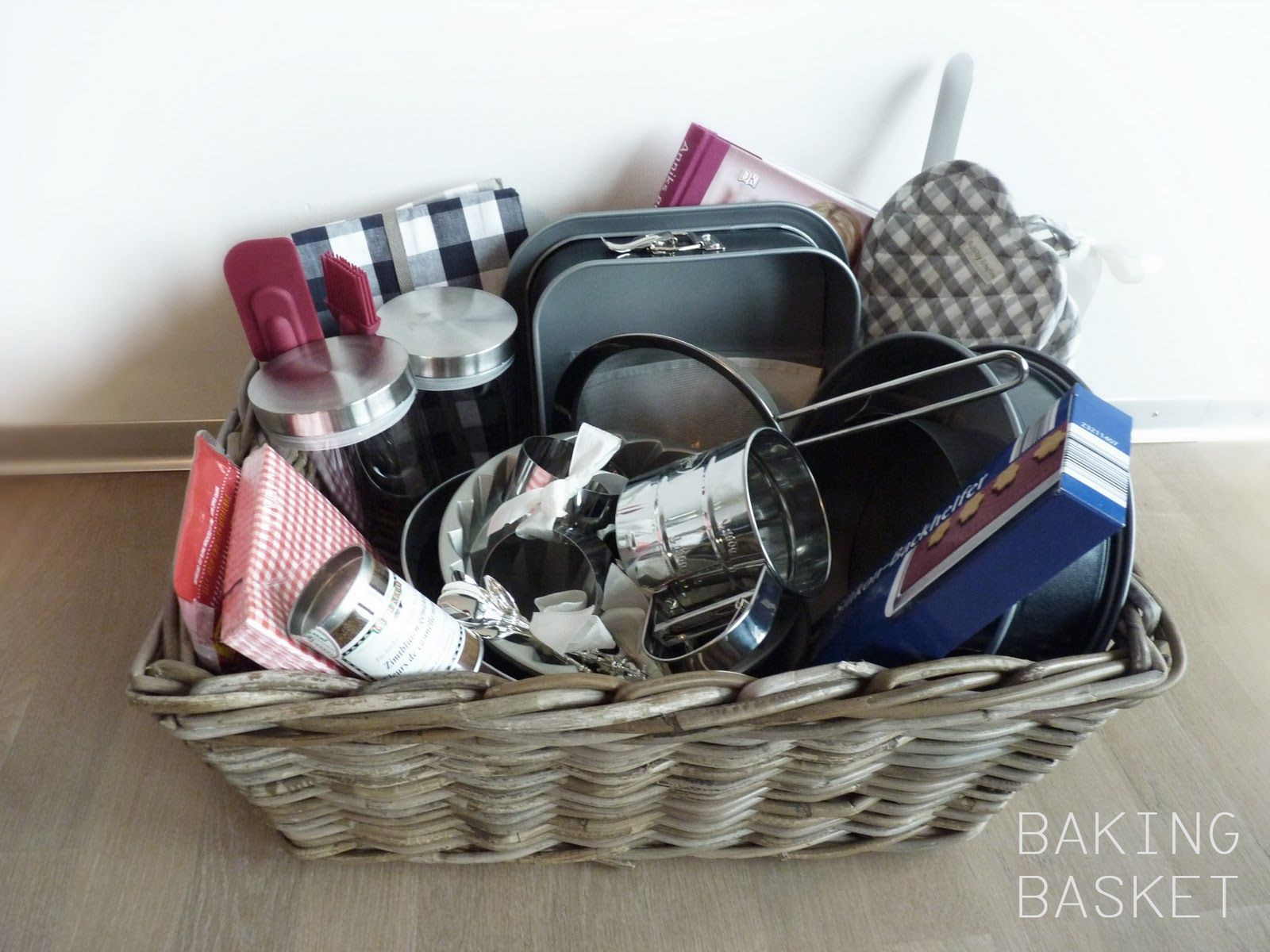 Best ideas about Baking Gift Baskets Ideas . Save or Pin baking t basket ideas Now.