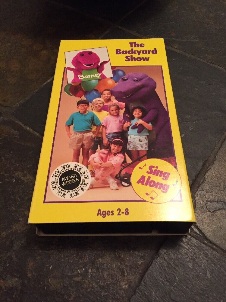 Best ideas about Barney The Backyard Show . Save or Pin Barney The Backyard Show VHS 1988 • CAD 22 37 Now.