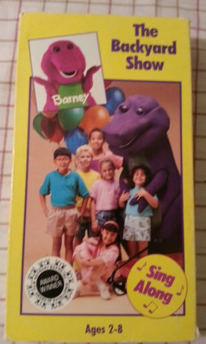 Best ideas about Barney The Backyard Show . Save or Pin Barney The Backyard Show vhs 1988 Now.