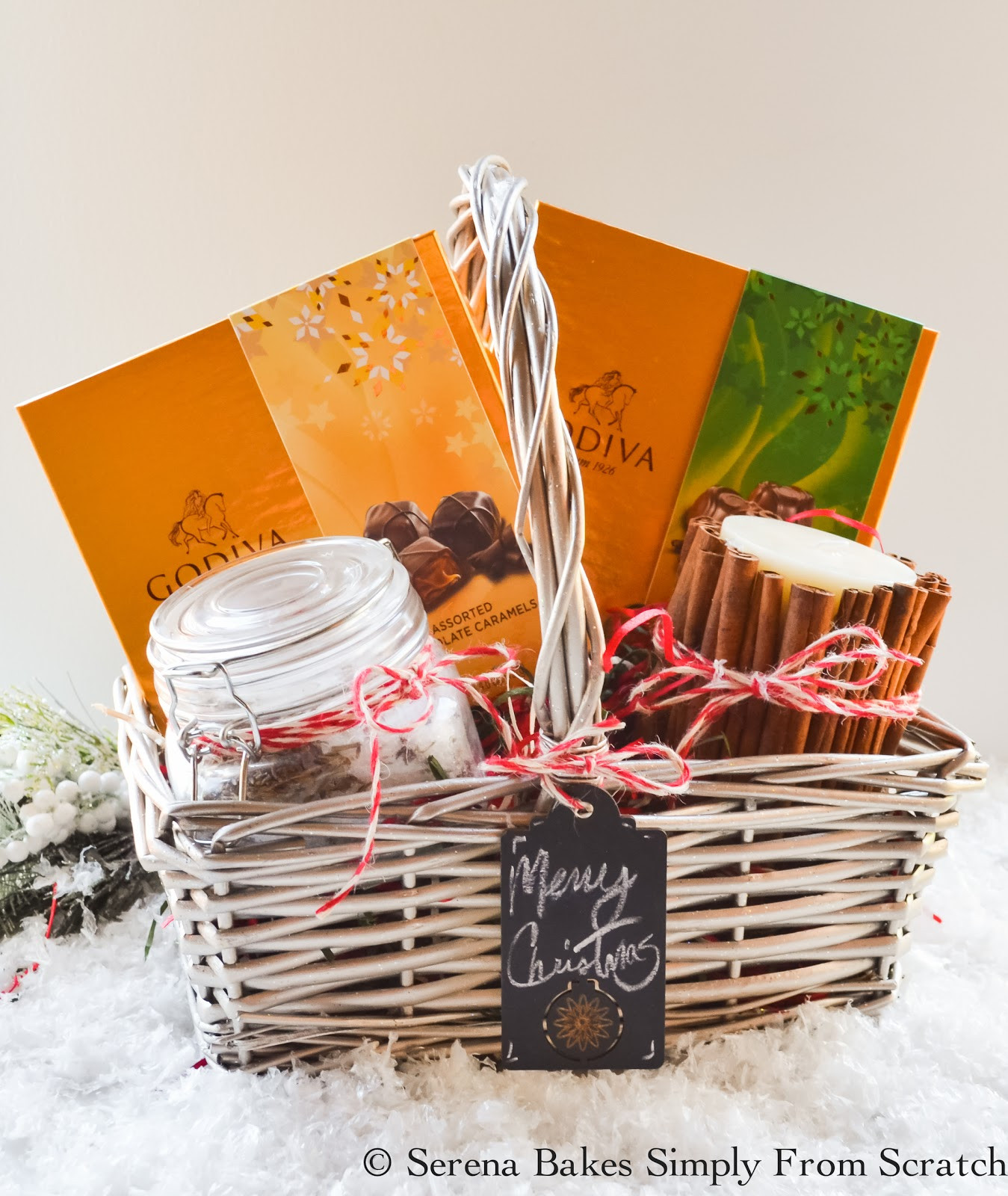 Best ideas about Basket Gift Ideas . Save or Pin Holiday Gift Basket Ideas Now.