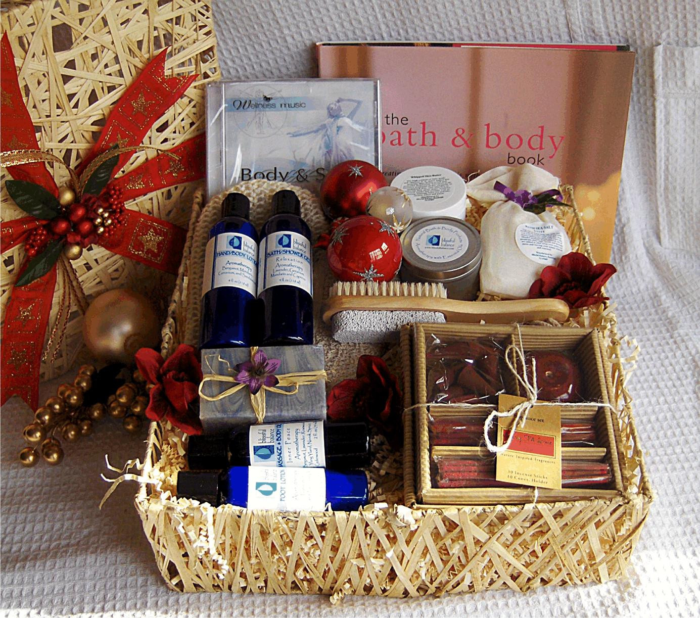 Best ideas about Basket Gift Ideas . Save or Pin 13 Gift Basket Ideas For Your Great Gifts Women wellness Now.