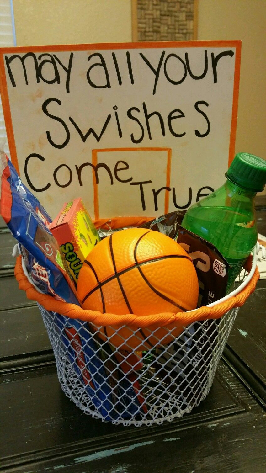 Best ideas about Basketball Gift Ideas . Save or Pin May all your swishes e true Basketball t basket We Now.