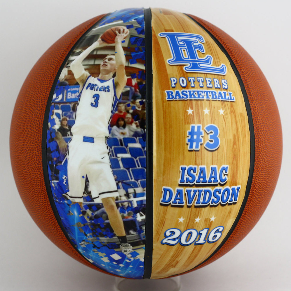 Best ideas about Basketball Gift Ideas . Save or Pin Customized Basketball Perfect For High School Senior Gift Now.