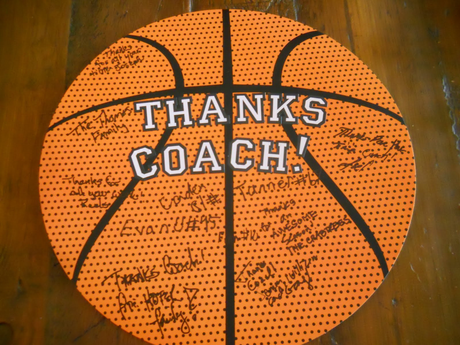 Best ideas about Basketball Gift Ideas . Save or Pin Susan Crabtree Coach & team ts Now.