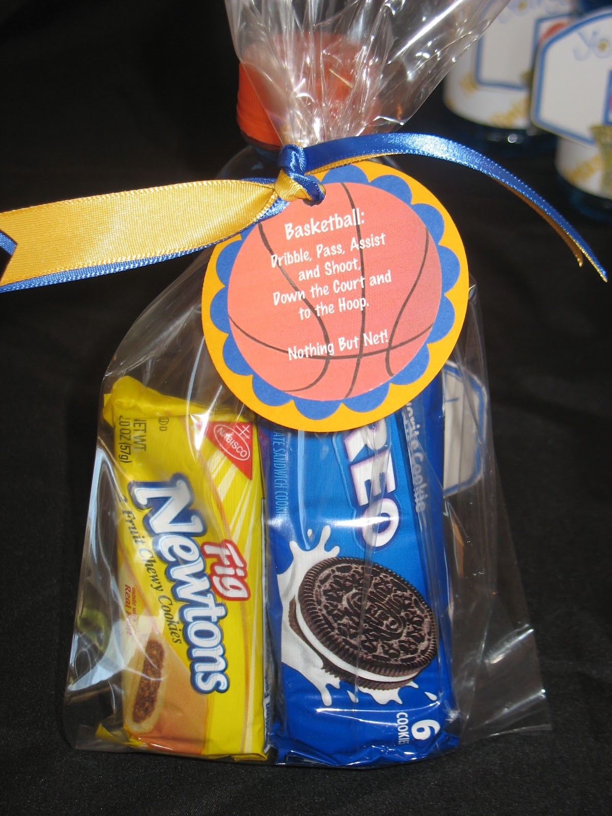 Best ideas about Basketball Team Gift Ideas . Save or Pin Ideas For Volleyball Treat Bags Now.