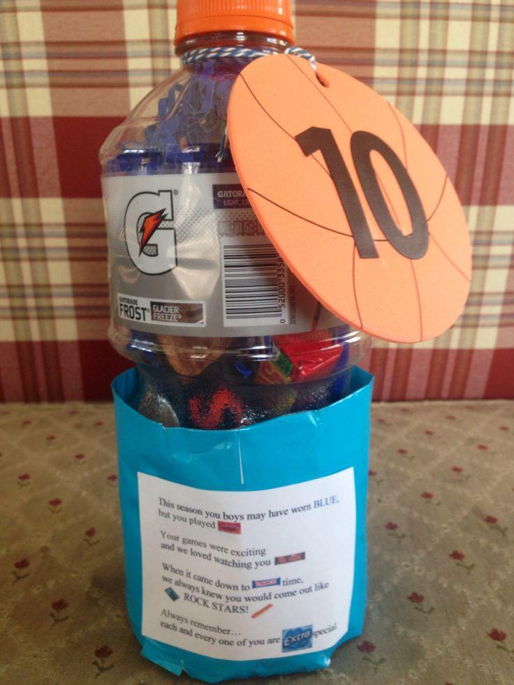 Best ideas about Basketball Team Gift Ideas . Save or Pin Basketball Team Gift Gift Ideas Now.