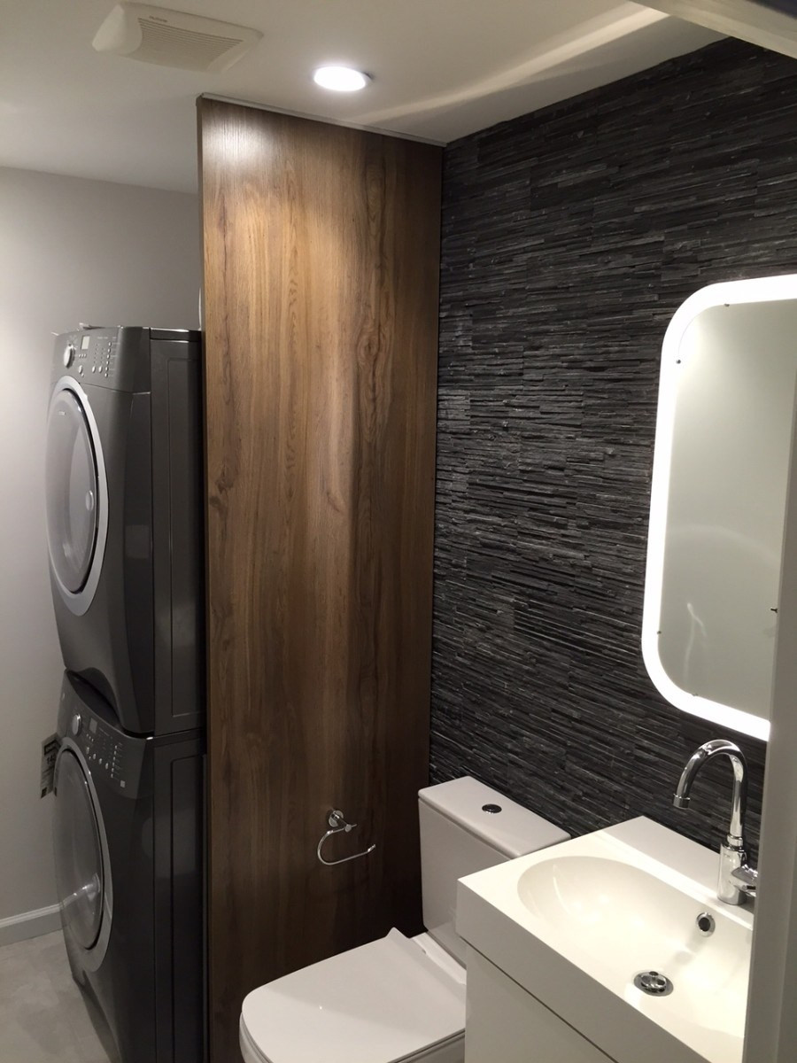 Best ideas about Bathroom Laundry Room . Save or Pin EKBACKEN Bathroom Laundry Room Divider IKEA Hackers Now.