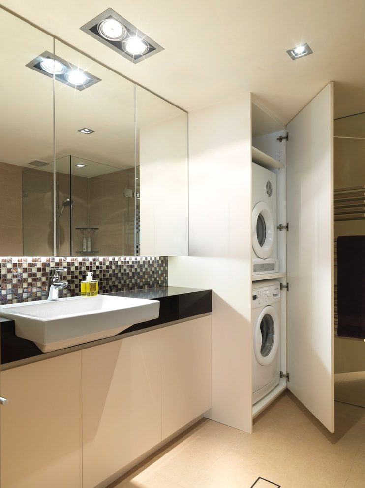 Best ideas about Bathroom Laundry Room . Save or Pin small bathroom laundry room bo laundry room Now.