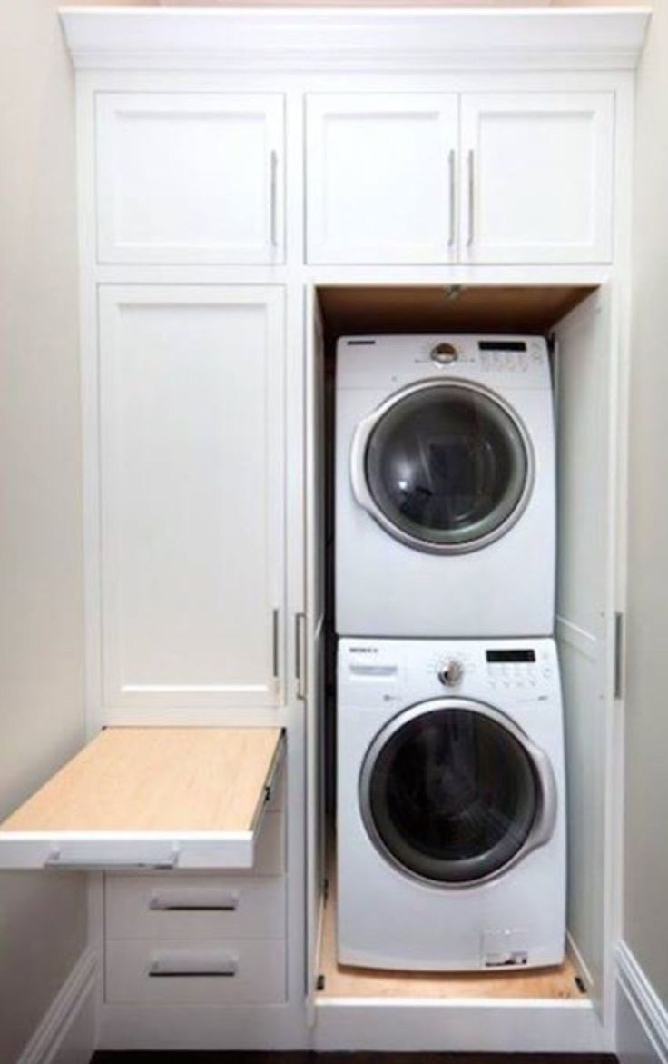 Best ideas about Bathroom Laundry Room . Save or Pin Over Washer Shelves The Best Quality Home Design Now.