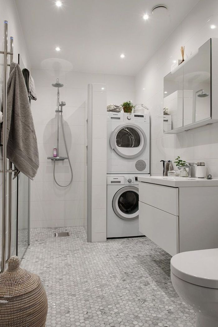 Best ideas about Bathroom Laundry Room . Save or Pin 22 Amazing Basement Laundry Room Ideas That'll Make You Love Now.