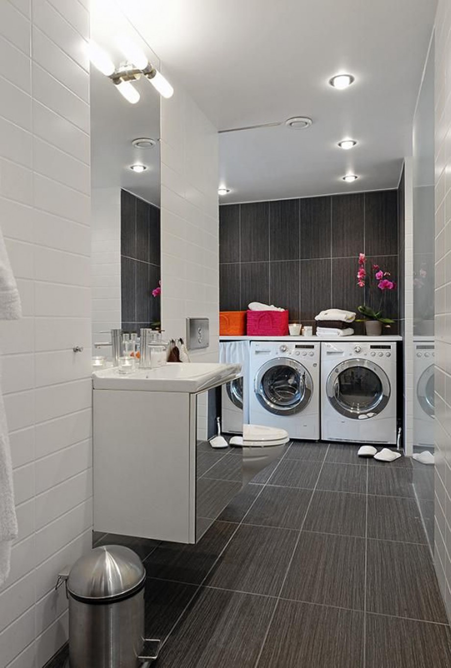 Best ideas about Bathroom Laundry Room . Save or Pin integrated bathroom laundry room decor Iroonie Now.