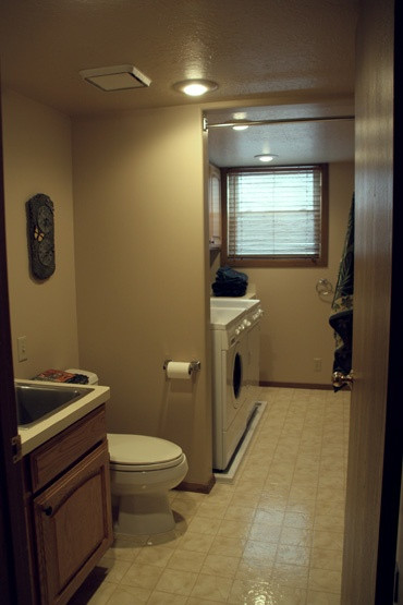 Best ideas about Bathroom Laundry Room . Save or Pin laundry half bath deep stainless steel sink functional Now.