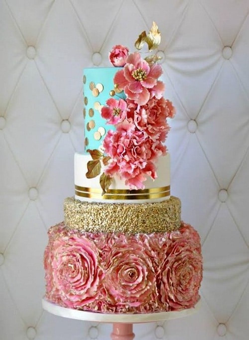 Best ideas about Beautiful Birthday Cake Images . Save or Pin 31 Most Beautiful Birthday Cake for Inspiration Now.