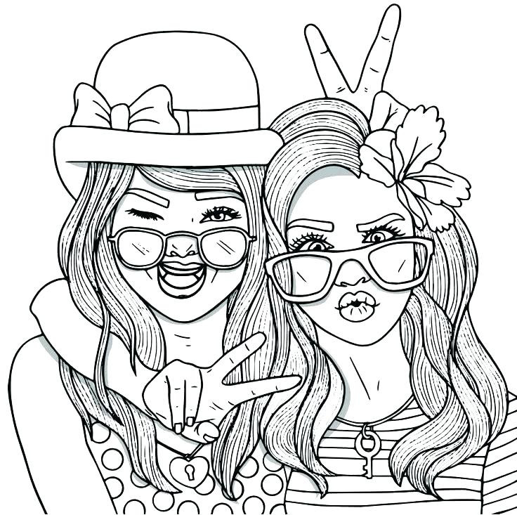 Best ideas about Best Friend Coloring Pages For Girls . Save or Pin Best Friend Coloring Page Fresh Pages And Luxury Epic Now.