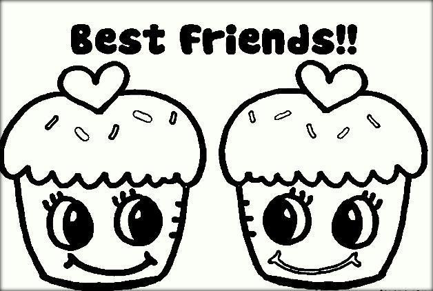 Best ideas about Best Friend Coloring Pages For Girls . Save or Pin Best Friend Coloring Pages Color Zini Now.