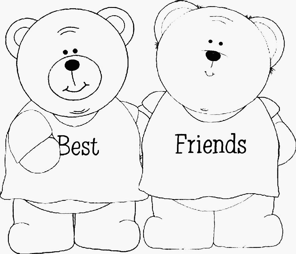 Best ideas about Best Friend Coloring Pages For Girls . Save or Pin Best Friend Coloring Pages For Girls – Color Bros Now.
