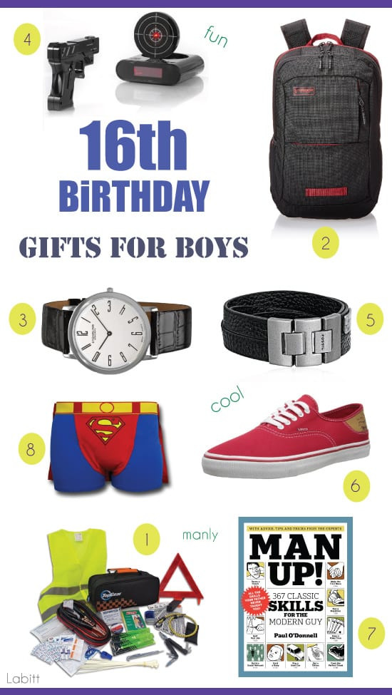 Best ideas about Best Gift Ideas For Boys . Save or Pin Best 16th Birthday Gifts for Teen Boys Metropolitan Girls Now.