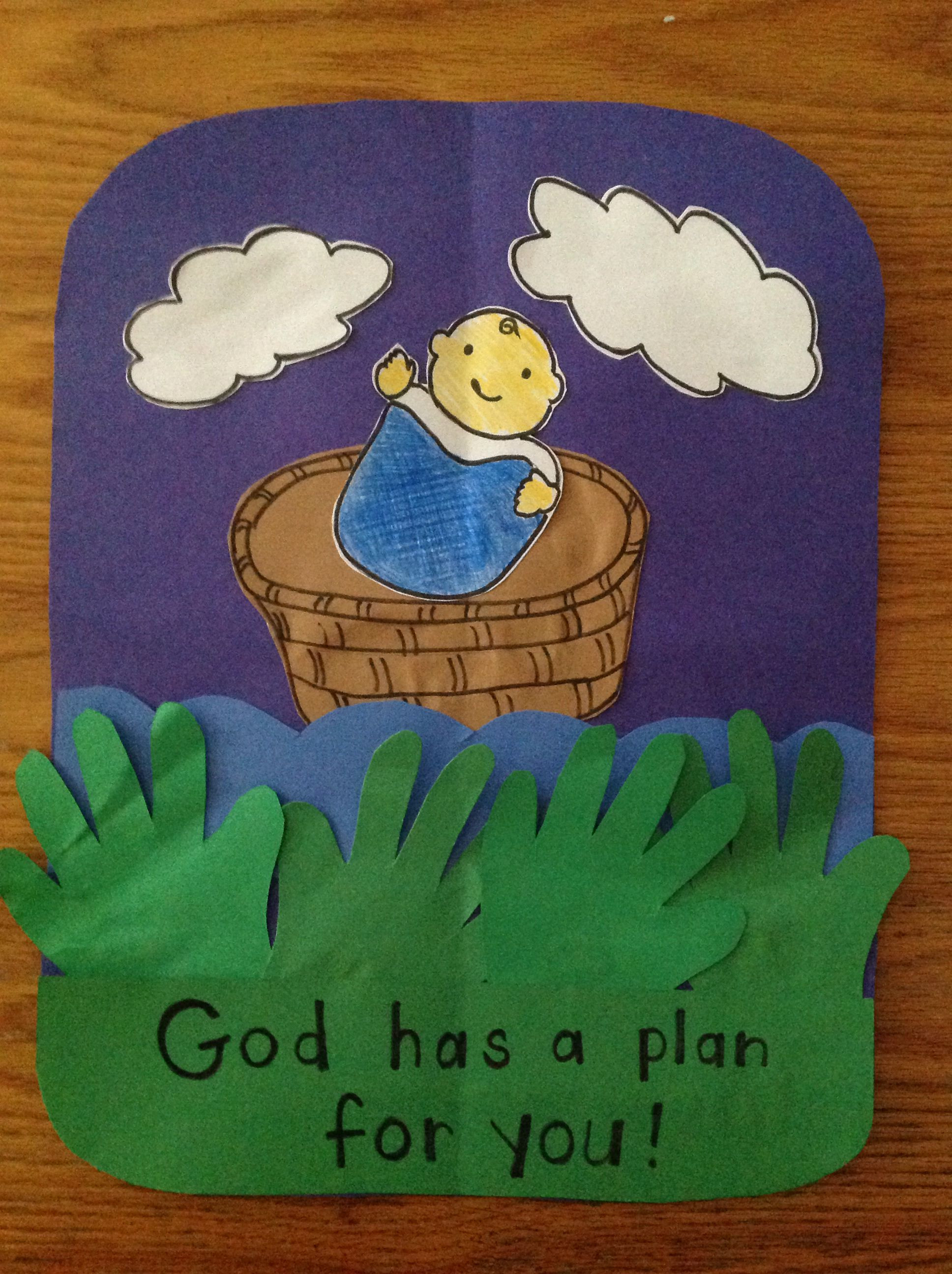 Best ideas about Bible Crafts For Preschoolers . Save or Pin Dream Home Baby Moses Craft Best Home Design Ideas Now.