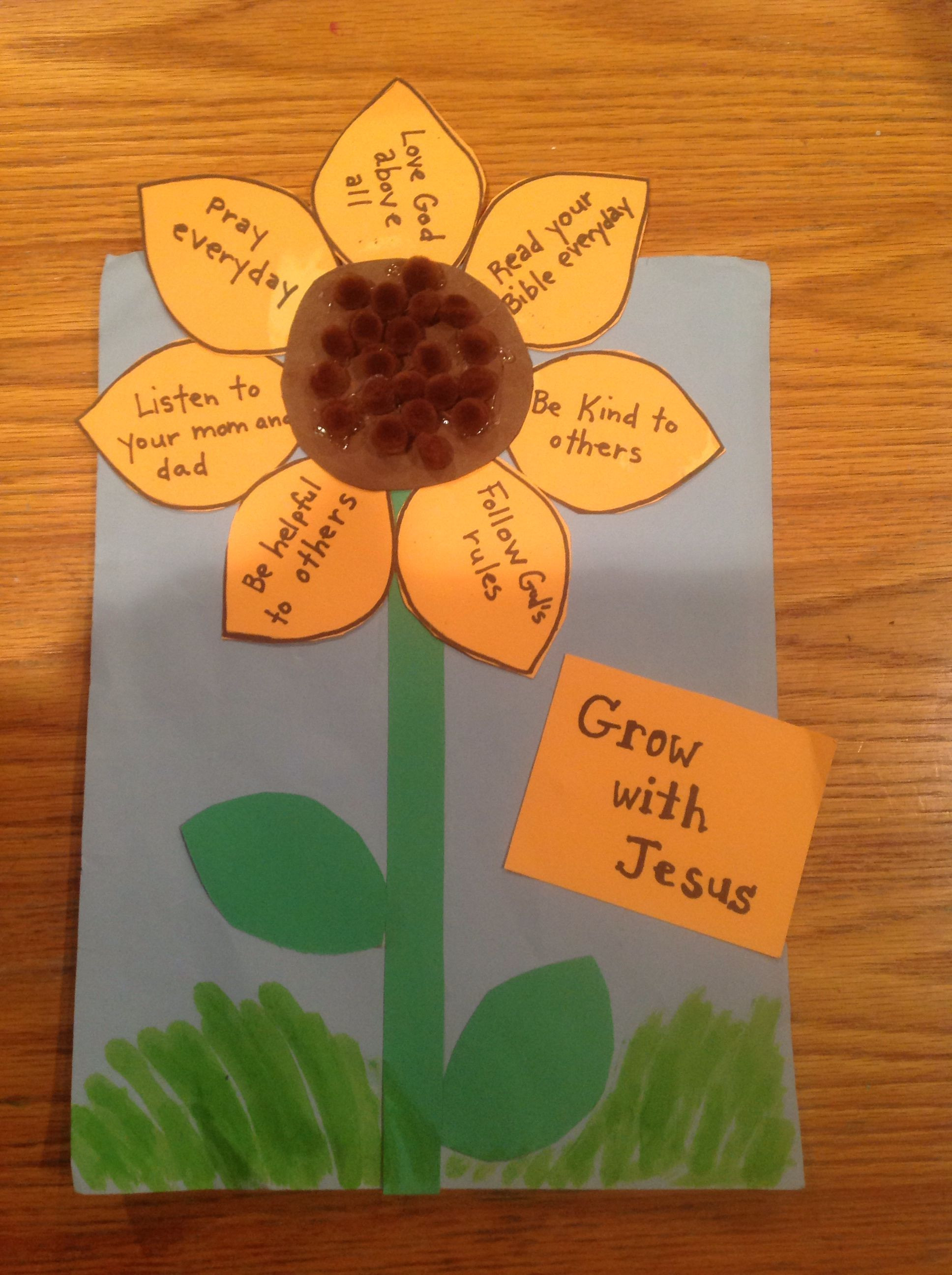 Best ideas about Bible Crafts For Preschoolers . Save or Pin Grow with Jesus Bible Craft by Let Now.