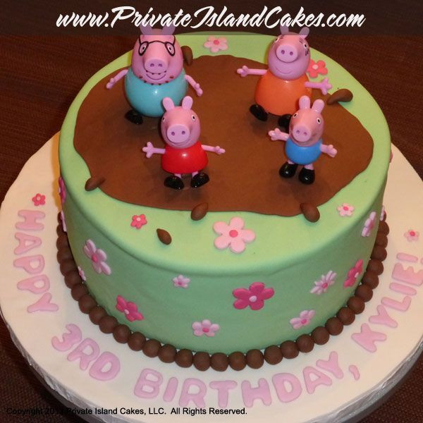 Best ideas about Birthday Cake For 3 Years Old Girl . Save or Pin Peppa Pig inspired cake for 3 year old girl s birthday Now.