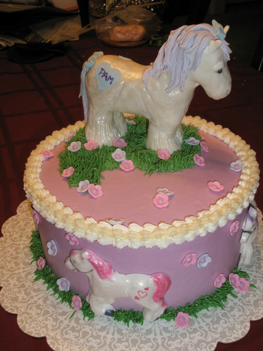 Best ideas about Birthday Cake For 3 Years Old Girl . Save or Pin Cute Pony Cake CakeCentral Now.