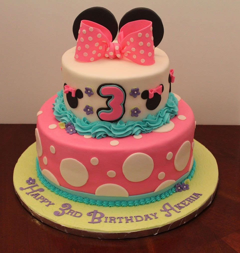 Best ideas about Birthday Cake For 3 Years Old Girl . Save or Pin Birthday cake for 3 year old Akeria Now.