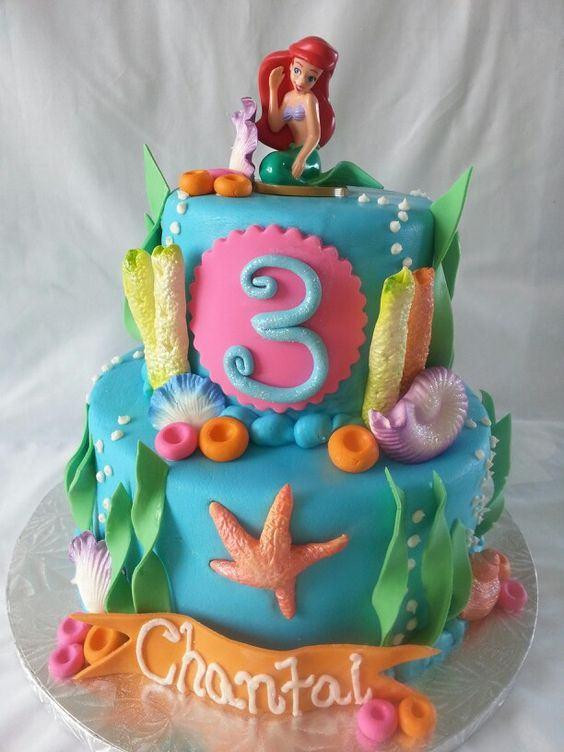Best ideas about Birthday Cake For 3 Years Old Girl . Save or Pin 3 Year Old Girl Birthday Cake Now.