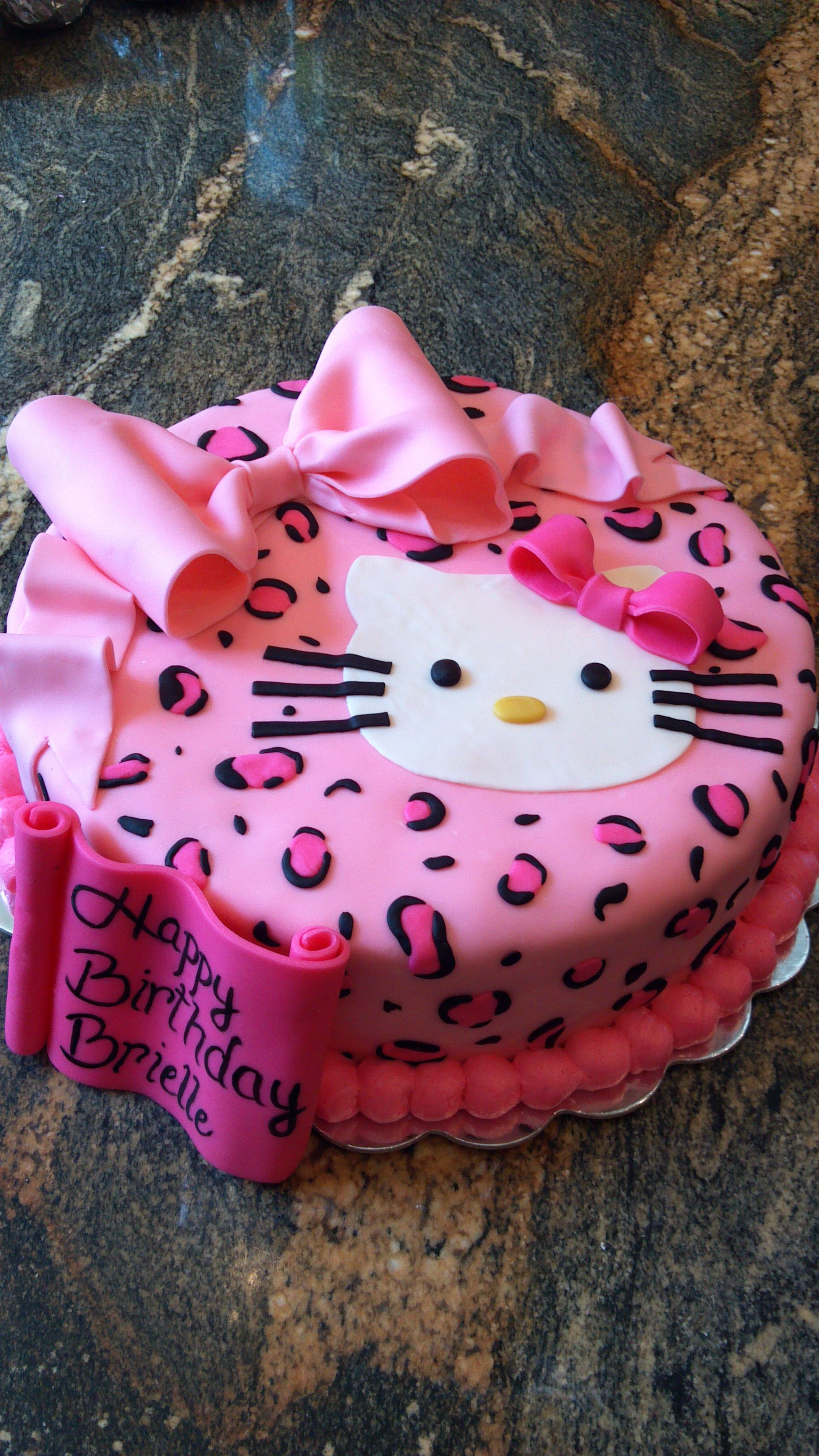 Best ideas about Birthday Cake For 3 Years Old Girl . Save or Pin Birthday cake I did for a 3 yr old little girl Now.