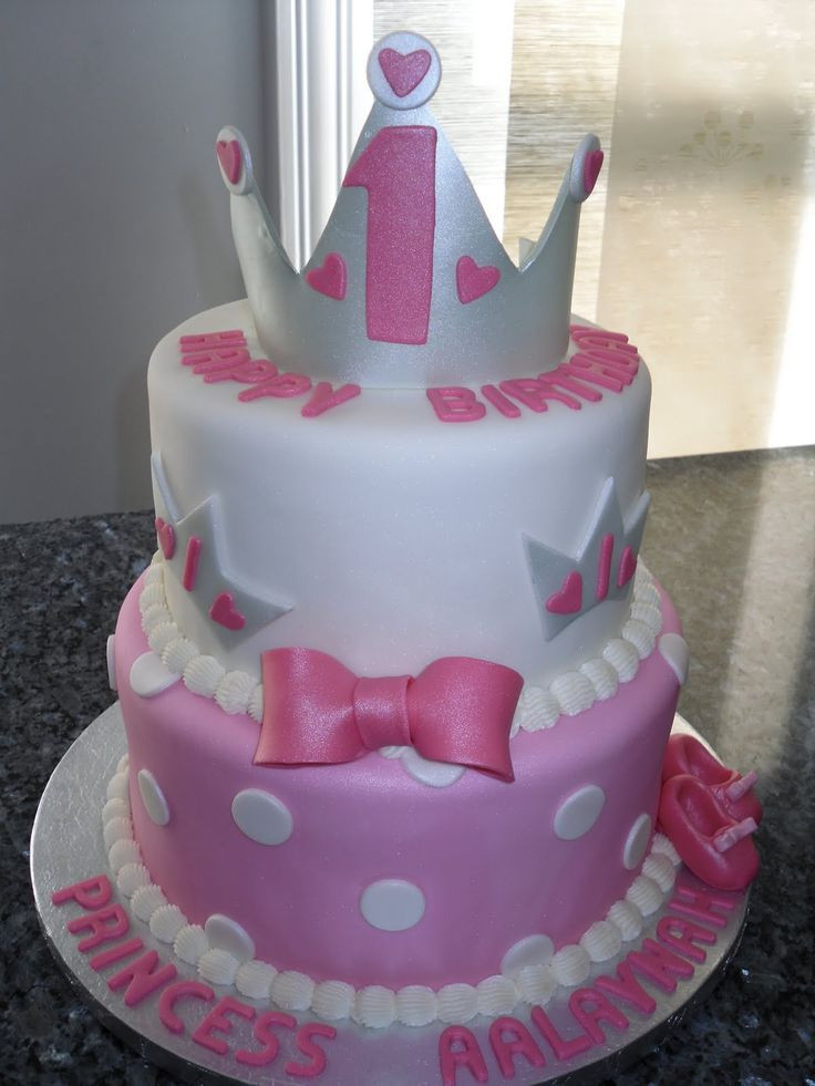 Best ideas about Birthday Cake For 3 Years Old Girl . Save or Pin 3 year old girls birthday cake pictures princess cakes Now.