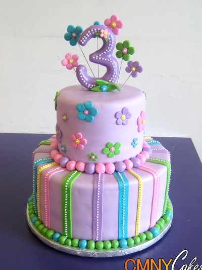 Best ideas about Birthday Cake For 3 Years Old Girl . Save or Pin 10 3rd Birthday Cakes For Girls Girls 3rd Birthday Now.