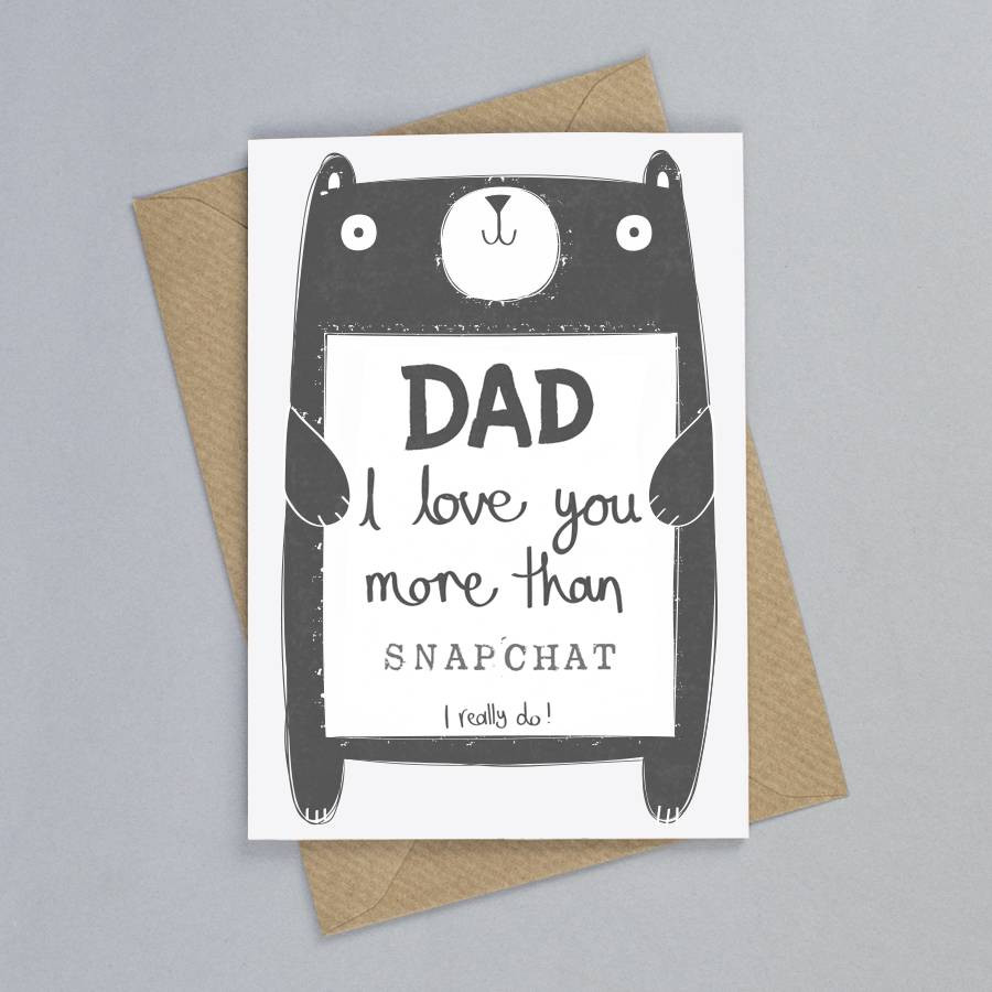 Best ideas about Birthday Card Dad . Save or Pin personalised daddy birthday card by tandem green Now.