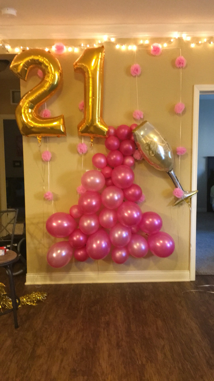 Best ideas about Birthday Decorations For Her . Save or Pin 21st birthday ideas couples 21st Birthday Ideas and Now.