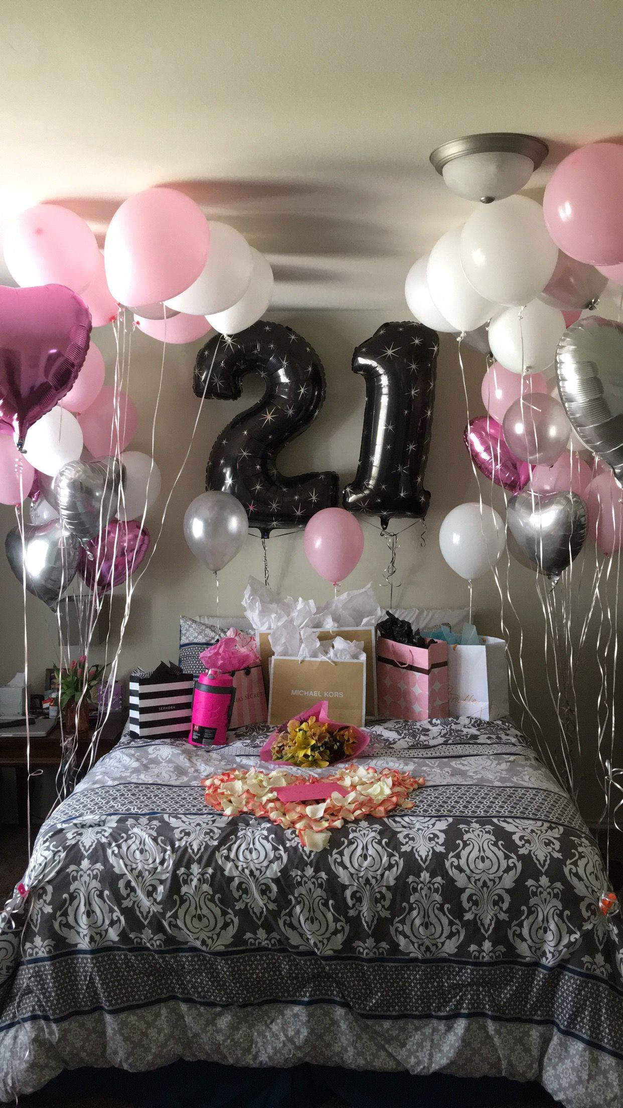 Best ideas about Birthday Decorations For Her . Save or Pin 21st Birthday surprise Girlfriends Birthday Now.