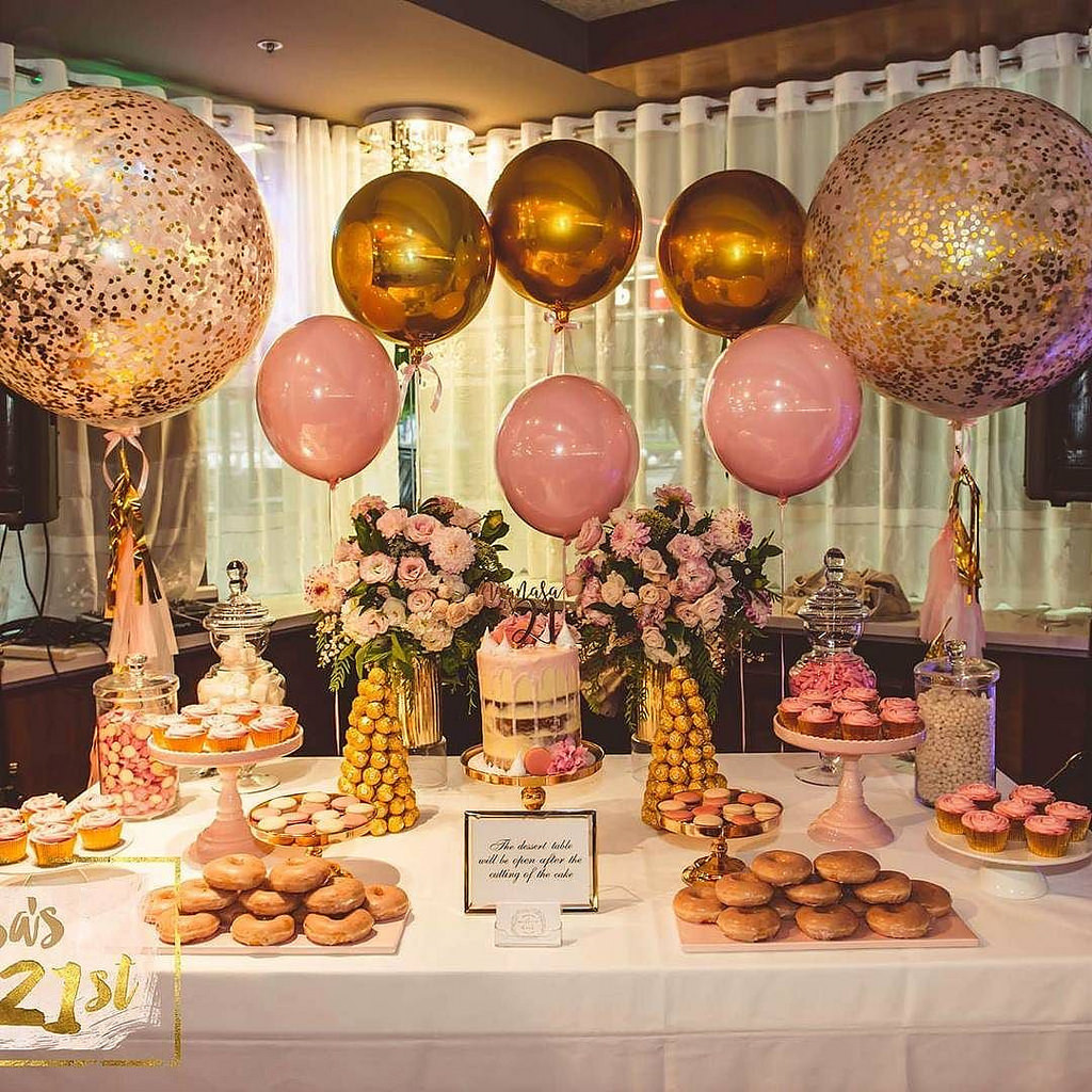 Best ideas about Birthday Decorations For Her . Save or Pin Gallery of Functions Conference Parties and Christening Now.