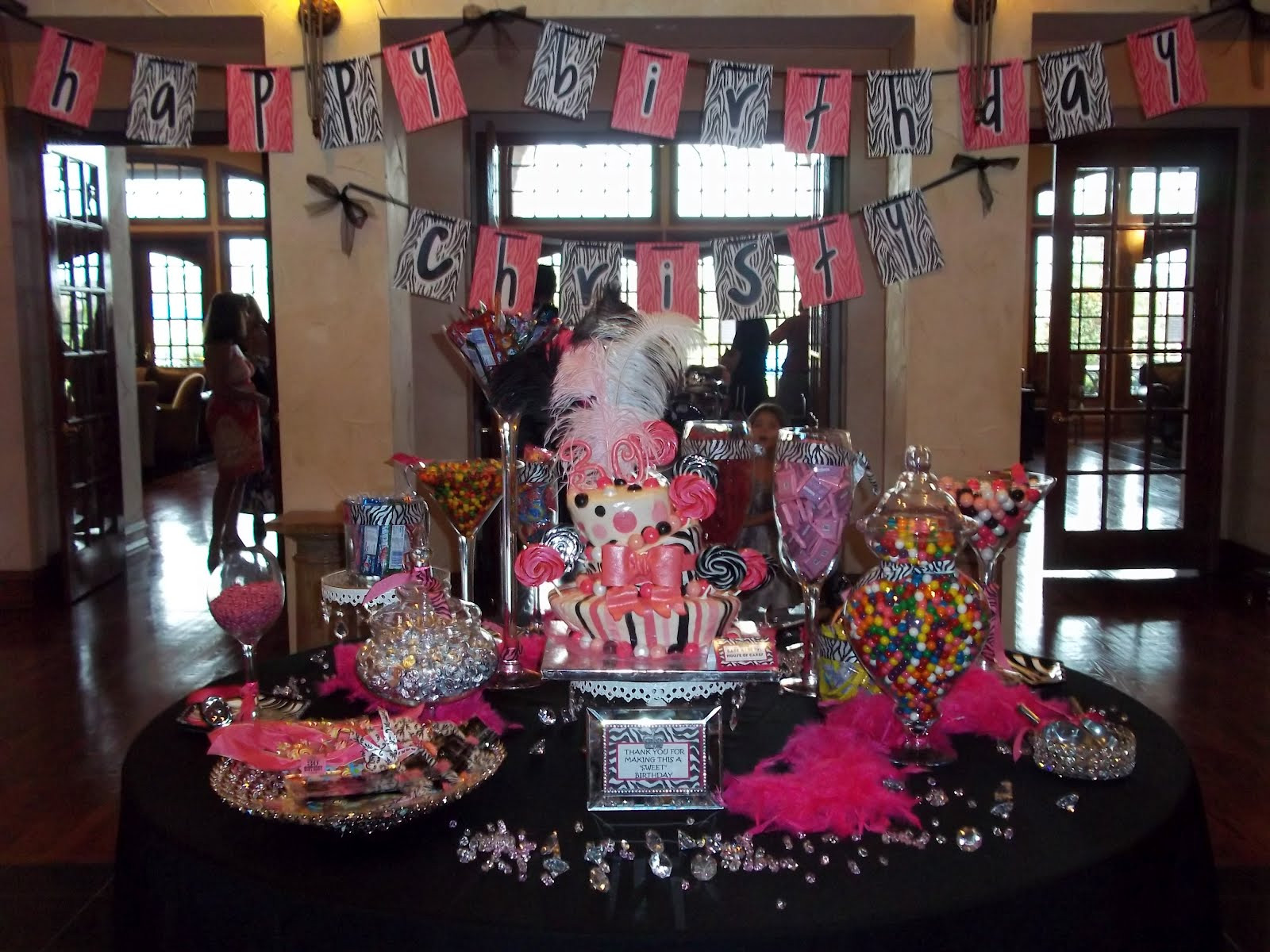 Best ideas about Birthday Decorations For Her . Save or Pin 30th Birthday Party Ideas Adults — CRIOLLA Brithday Now.