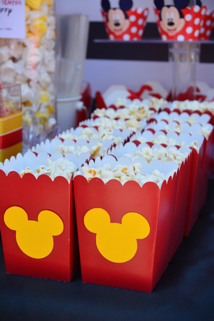 Best ideas about Birthday Decorations Ideas . Save or Pin Kara s Party Ideas Mickey Mouse 1st Birthday Party via Now.