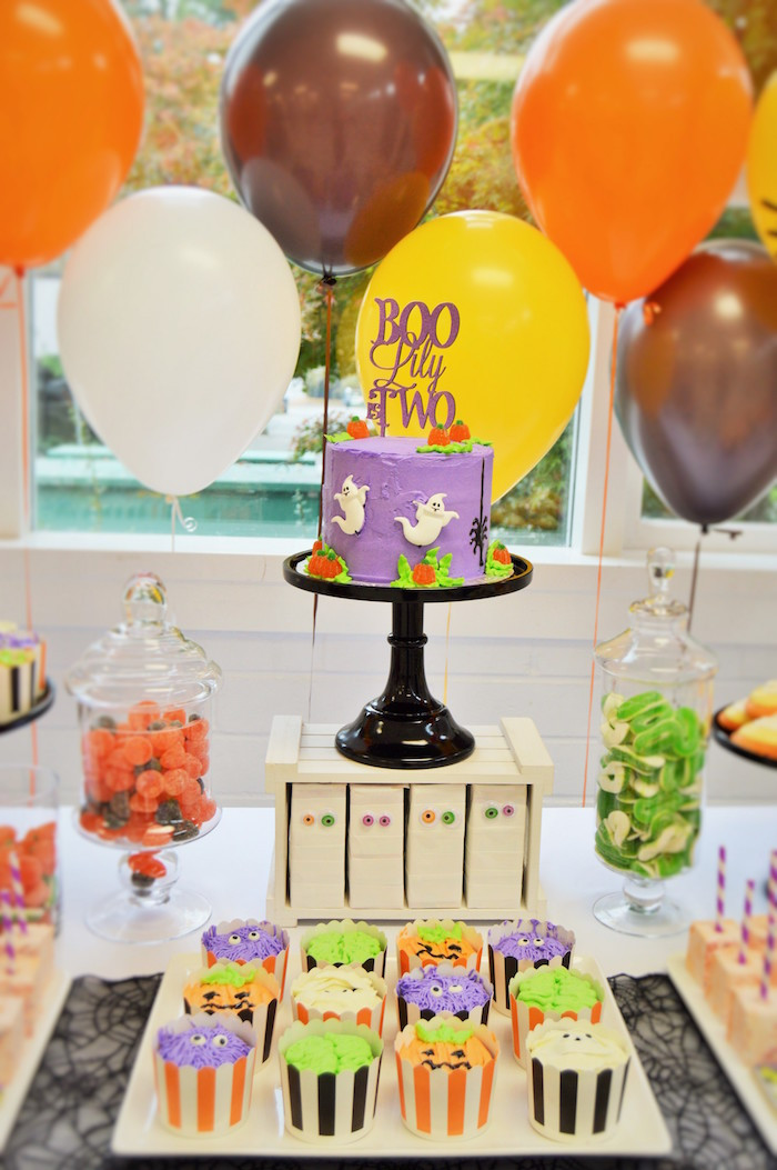 Best ideas about Birthday Decorations Ideas . Save or Pin Kara s Party Ideas Spooktacular Halloween Birthday Party Now.