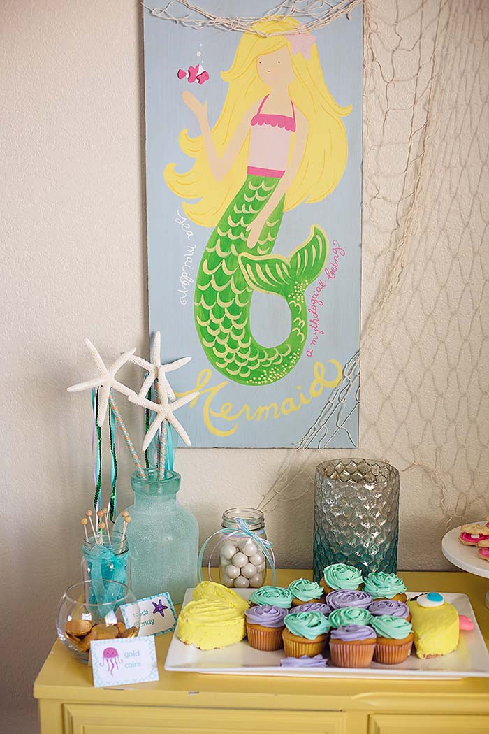 Best ideas about Birthday Decorations Ideas . Save or Pin Mermaid Birthday Party with Under the Sea Decorations Now.